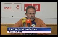 El PSOE presenta en el congreso 17 iniciativas parlamentarias.
