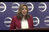 La presidenta de la Junta visita Acerinox en Los Barrios