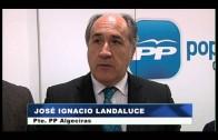 Landaluce, Sanz y Vivas presiden el Comité Ejecutivo Local algecireño del PP