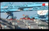 Las terminales de contenedores del Puerto de Algeciras operaron 99 mega buques durante el 2015.