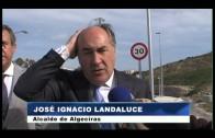 El paso inferior de la Cañada de los Tomates ha abierto hoy al tráfico