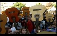 La plaza Alta acoge esta tarde el acto de homenaje a Paco de Lucía 'Guitarras al cielo'