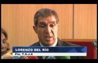 Lorenzo del Río visita los juzgados de Algeciras