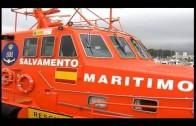 Rescatados cinco subsaharianos que trataban de cruzar el Estrecho en una embarcación hinchable