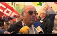 CCOO se concentra contra la siniestralidad laboral en el Campo de Gibraltar