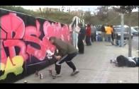 """Concurso de graffiti de la delegación de Juventud y el centro de adultos """"Juan Ramón Jiménez"""""""