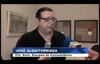 El alcalde recibe a la representación de la Asociación Europea de Consumidores