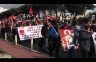 IU y Algeciras Sí se Puede respaldan la marcha de los trabajadores del grupo SAM