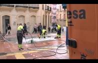 El Ayuntamiento acomete una limpieza de choque en la calle Rafael de Muro