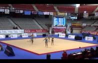 Las algecireñas de rítmica regresan satisfechas del nacional de  Gijón