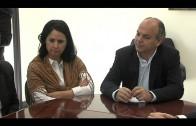 Reunión entre parlamentarios del PP y el presidente de la Mancomunidad de Municipios