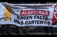 Sindicatos y De la Encina trasladan su apoyo a los trabajadores de Correos
