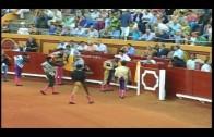 Diego Luque triunfa en la novillada televisada por Canal Sur