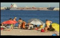 el grupo municipal del PSOE critica el estado de las playas