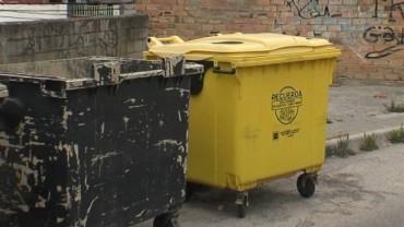 IU reclama una intervención  en el punto de contenedores de Sagrado Corazón