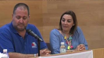 Landaluce, con la Asociación de Esclerosis Múltiple, en la celebración de su Día Mundial