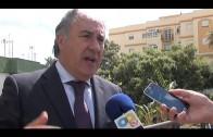 """Landaluce insiste en que la comarca debe hablar """"de tú a tú"""" con Gibraltar"""