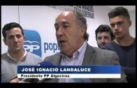 Landaluce pide a la ciudadanía que acuda a votar durante el comité de campaña del PP