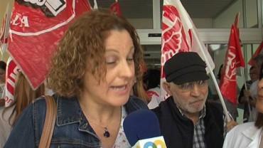 Los trabajadores del SAS se movilizan de nuevo y exigen recuperar sus derechos laborales
