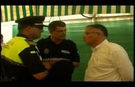 Muñoz destaca la buena sintonía entre los cuerpos de Policía Local de Algeciras y La Línea.