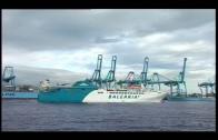 Retiran temporalmente barco del Estrecho tras chocar contra muelle en Ceuta