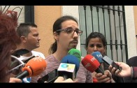 Teresa Rodríguez mantiene un encuentro con trabajadores de la empresa SAM.