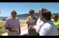 Comienzan los trabajos de acondicionamiento en las playas del Campo de Gibraltar