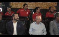 El alcalde recibe a los equipos del Balonmano Ciudad de Algeciras