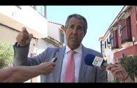El alcalde supervisa las obras de la calle Gloria, dentro del proyecto de mejora de San Isidro