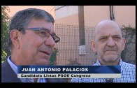 El PSOE realiza un reparto de propaganda en La Bajadilla