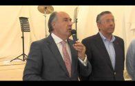 Landaluce recibe a autoridades de la comarca y periodistas