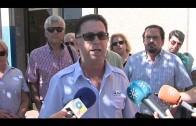 Los trabajadores de CTM se concentran para denunciar la  violencia sufrida por los conductores