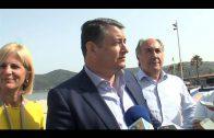 Sanz anuncia que se realizarán trabajos de acondicionamiento en tres playas del Campo de Gibraltar