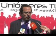 UGT reelige a Ángel Serrano en el X Congreso Comarcal celebrado hoy en Algeciras