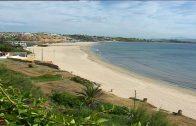 Costas ha realizado un reperfilado de arena en la playa  de Getares en   18.000 metros cuadrados