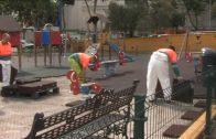 El Ayuntamiento comienza hoy el montaje del parque infantil de Parque Feria