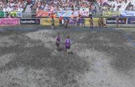 El Balonmano Playa Algeciras, primero y tercero en mujeres y hombres respectivamente, en Pontevedra.