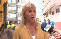 Emalgesa resuelve los problemas de inundaciones en la plaza Álvarez Quintero