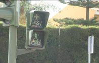Entran en funcionamiento dos nuevos semáforos peatonales en la avenida Carlos Cano