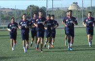 Kinley Archival fue la novedad en los entrenamientos del Algeciras CF