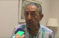 Landaluce recibe a José Vargas, que será nombrado el próximo 12 de agosto, la Medalla de la Palma