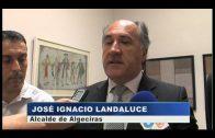 Reunión entre representantes de la AGI y el alcalde de Algeciras