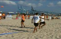 Siete equipos de Algeciras en el Nacional de balonmano playa en Laredo.