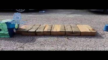 Un detenido en Algeciras de una red de narcos a la que han incautado una tonelada de hachís