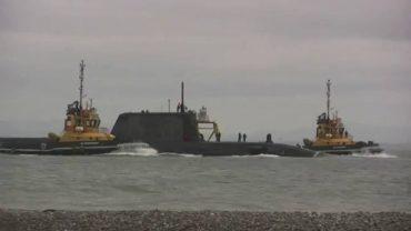 """Verdemar exige un análisis radiológico """"urgente"""" tras la colisión del submarino nuclear"""