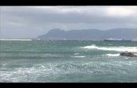 Continúa la alerta amarilla en el Estrecho por fuerte viento de levante y fenómenos costeros