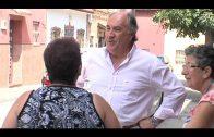 El alcalde supervisa los trabajos de limpieza y adecentamiento que se ejecutan en La Piñera