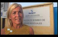 Emalgesa realiza labores de mantenimiento en la EBAR de Los Guijos