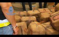 La Policía se incauta de cerca de tres toneladas de hachís ocultas en una vivienda de La Línea.