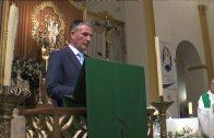Landaluce, en la toma de posesión del nuevo Hermano Mayor del Santo Entierro